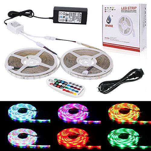 10M Multi Coloured Led Rope Lights - 1