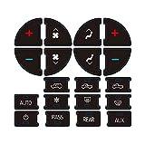 PAWACA AC Dash Button Sticker Repair Kit for GM