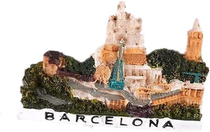 Bella Imanes para Refrigerador Fridge Magnet Sticker Frigerator Imán Viaje Souvenir Europa Barcelona España Decoración Hogar y Cocina: Amazon.es: Hogar