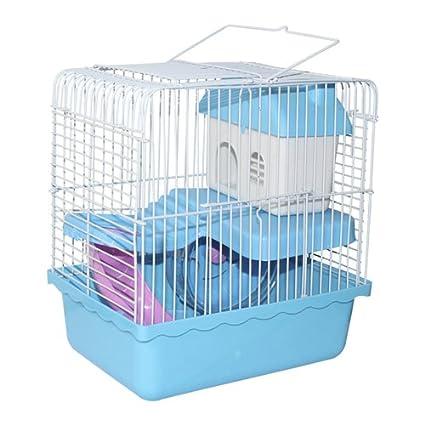 Jaula para hamster (Azul): Amazon.es: Hogar