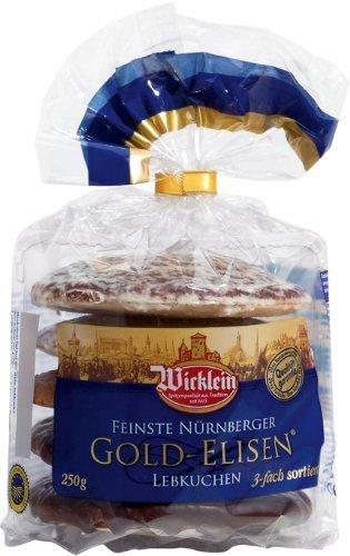 Wicklein Elisen Lebkuchen Assorted in Bag