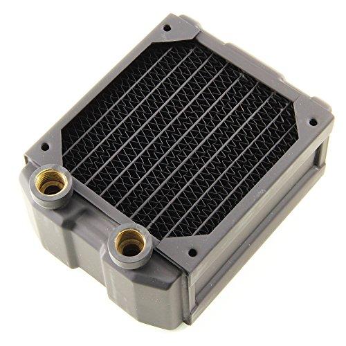 (Black Ice Nemesis 92mm Dual-Core Xtreme Profile Radiator - Black Carbon )