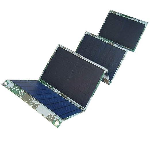 60W Cargador Solar Plegable Portátil Solar Del USB Del Panel ...
