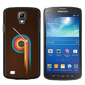 YiPhone /// Prima de resorte delgada de la cubierta del caso de Shell Armor - Colorido Vinilo Retro - Samsung Galaxy S4 Active i9295