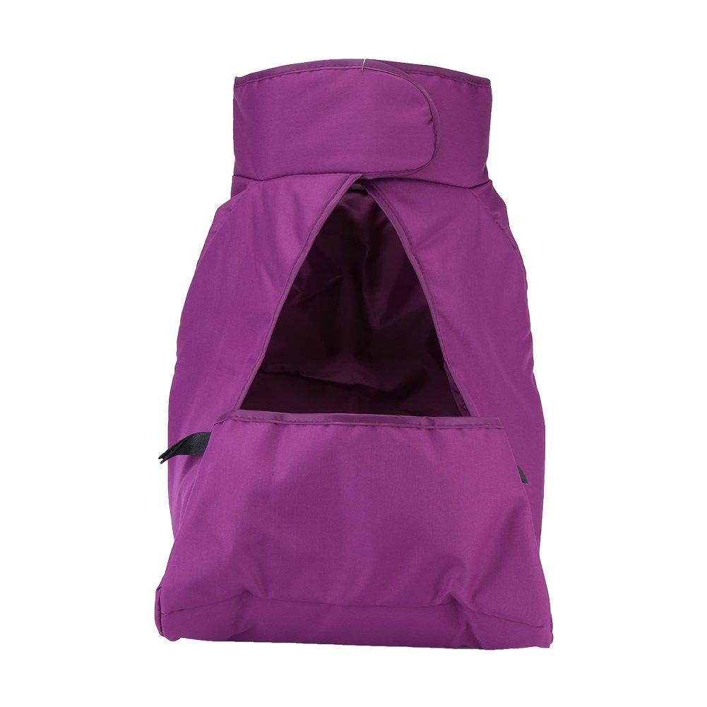 Zerodis Baby Kinderwagen Fuß Muff Windschutz Abdeckung Sleeping Nest Universal Warm Wasserdicht(Rosa)
