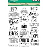 Penny Black Hope Shines Clear Unmounted Rubber Stamp Set (30-432)
