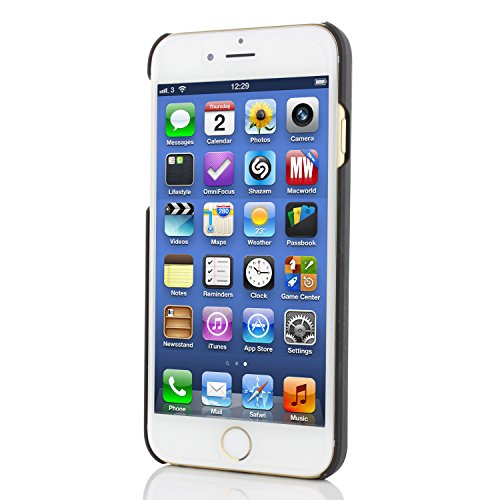 Urcover® iPhone 6 6S Hülle, Aluminium Handyhülle Motomo Edition Schutzhülle Alu Cover Smartphone Zubehör Schale Case Handyhülle für Apple iPhone 6 / 6S Farbe: Dunkel Blau