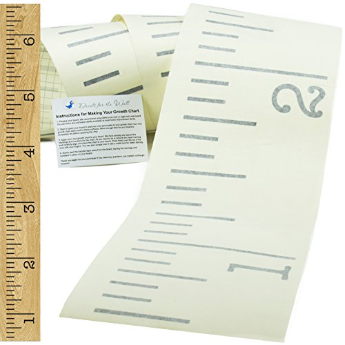 Vinyl Growth Chart | Single Transfer for EASY Application |