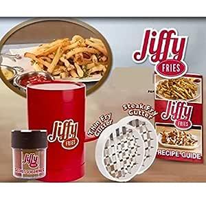 Yaogroo Jiffy Fries Papas Fabricante de Patatas Fritas Fabricante Patatas Fritas máquina de Cortar Patatas francesas y contenedor de microondas ...