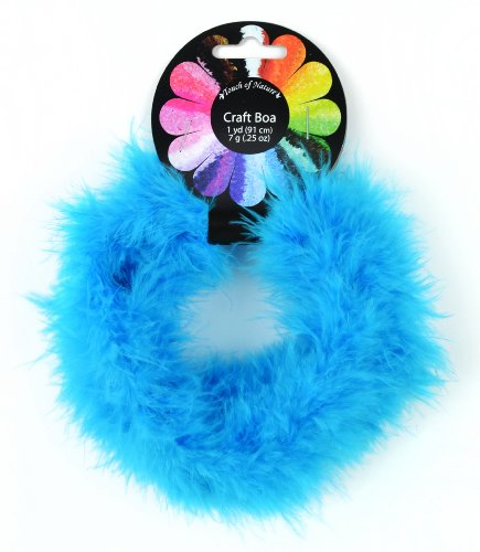 Touch of Nature 1-Piece Feather Marabou Craft Boa, 1-Yard,