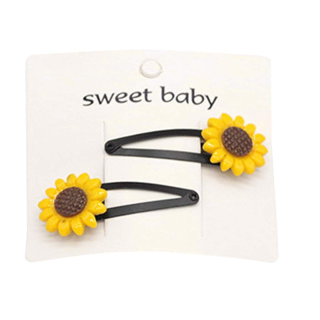 mgjyjy Cute Cartoon Hair Clips Watermelon 1.77 Snap hairpin Barrettes For Toddlers Girls/Kids Baby Girls Head Band