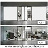 "Smart Film-Switchable Electronic Privacy Film -sample - 6x9"" (inch)"