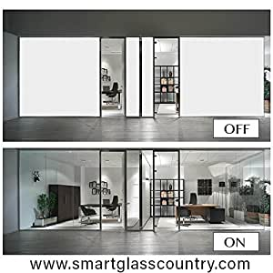 """Smart Film-Switchable Electronic Privacy Film -sample - 6x9"""" (inch)"""