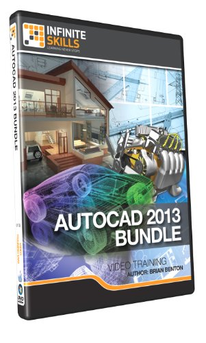 Discounted - AutoCAD 2013 Bundle Training DVD - 30+ Hours of Videos by Infiniteskills