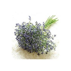 16Pcs/Set Babies Breath Artificial Flowers Fake Gypsophila DIY Floral Bouquets Arrangement Wedding Home Garden Party Decoration,Purple