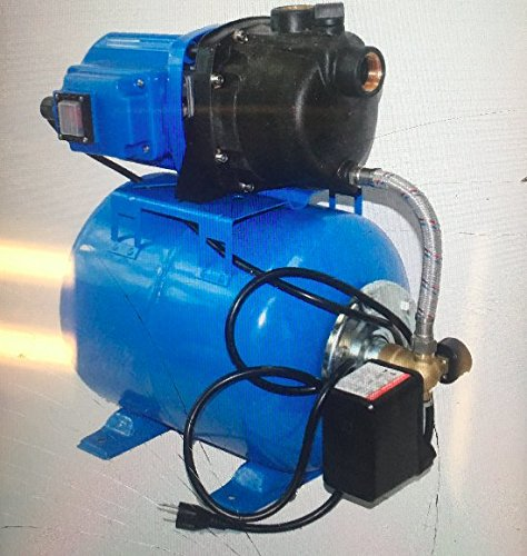 1.6 Hp 1200w Shallow Well Garden Pump 1000gph W//booster System /& Pressure Tank