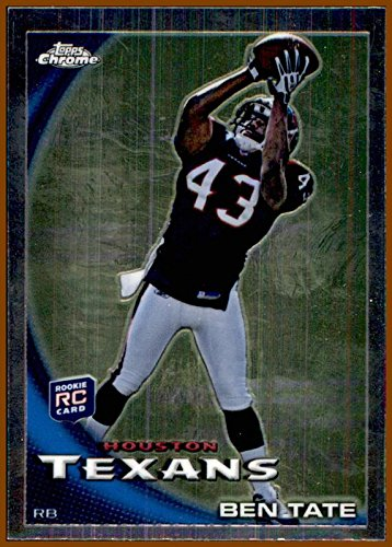 2010 Topps Chrome #C46A Ben Tate RC HOUSTON TEXANS ROOKIE AUBURN TIGERS