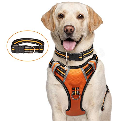 WINSEE Dog Harness No-Pull, Pet Harness with...