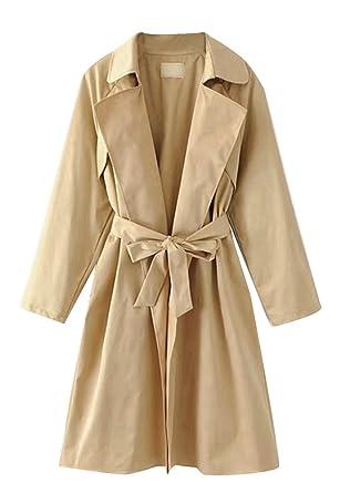 Mantel kleid lang