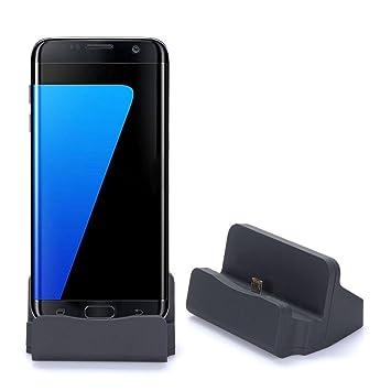 Axelens Base de Carga Micro USB: Amazon.es: Electrónica