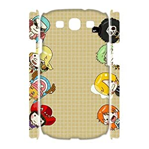 HOPPYS One piece Phone 3D Case For Samsung Galaxy S3 I9300 [Pattern-5]