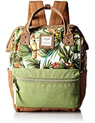 Anello Cotton Rucksack Pineapple Pattern Backpack