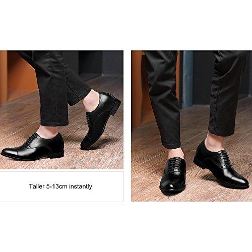 CHAMARIPA Elevatore Scarpe Altezza scarpe da uomo Altezza Scarpe alte - 7cm Taller -X92H38