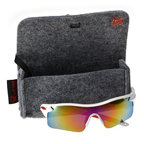 Men's cycling sunglasses white frame red - Sunglasses Nordstrom Mens