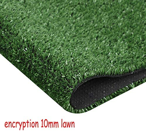 XEWNEG 屋外の庭の壁の装飾、防水、滑り止めのために10MM暗号化された緑の芝生、非フェージング、幅2メートル (Size : 2x20M)