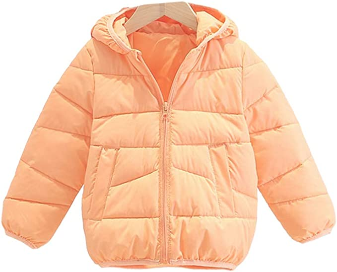 Jungen Mädchen Kinder Kapuze Winterjacke Fleecejacke Mantel Hooded Schneeanzug