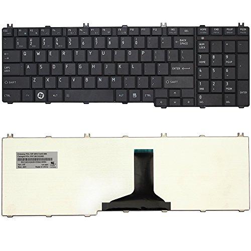 New Black Laptop Notebook Keyboard for Toshiba Satellite L655 L655D C655 C655D C650 C650D L650 L650D L670 L670D L675 L675D Series V000210270 US LAYOUT