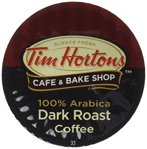 Tim Hortons Single Serve RealCup - Dark Roast Coffee Cups - 12 ct
