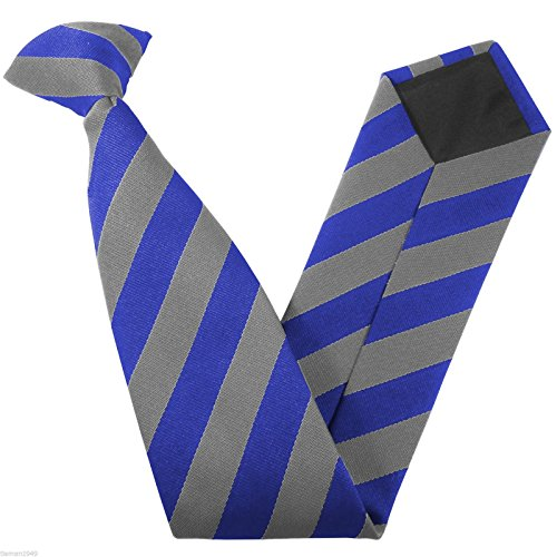 Ties Block Stripe Grey Colour amp; Clip amp; Size Royal School On Variations x1In5wfqAE