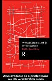 Wittgenstein's Art of Investigation, Savickey, Beth, 0415180384