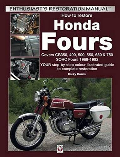 How To Restore Honda Fours  Enthusiast's Restoration Manual