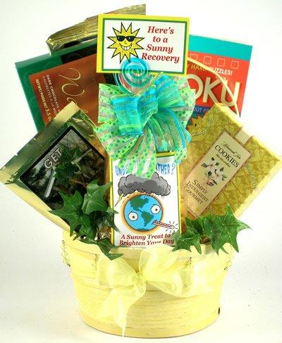 Gift Basket Village To Brighten Your Day Get Well Gift Basket