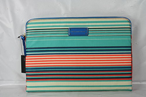 Marc by Marc Jacobs Coated Canvas Paradise Print Tablet Book Aqua Lagoon Multi One Size
