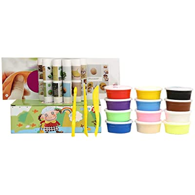 Color Clay Set Non-sticky Clay Toy Modeling Clay with Clay Tools for Kids: Everything Else