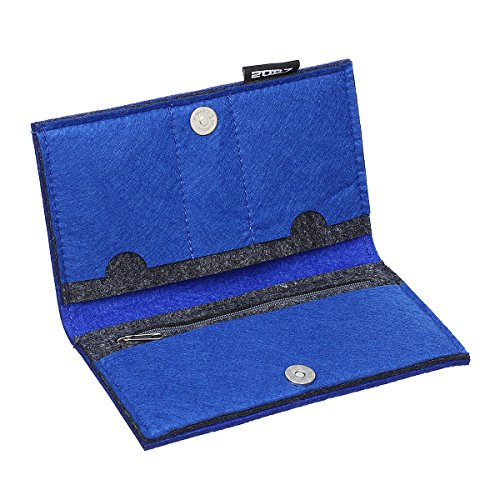 Color Long Blue Storing 2087 Coin Royal Black Credit Purse Women 05 Card Wallet 81q57