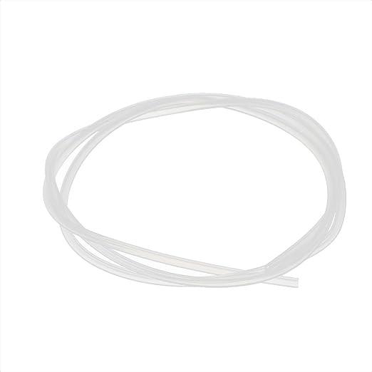 Aexit Tubo de tubo de PTFE de 1.6 mm x 3.2 mm 1 metro 3.28 pies ...