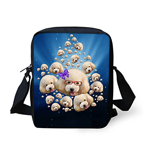 Graffiti Cellphone Bag Small Girl Bag Poodle Adjustable Women HUGS Pouch Crossbody Shoulder Pug IDEA Strap wU7aPqX