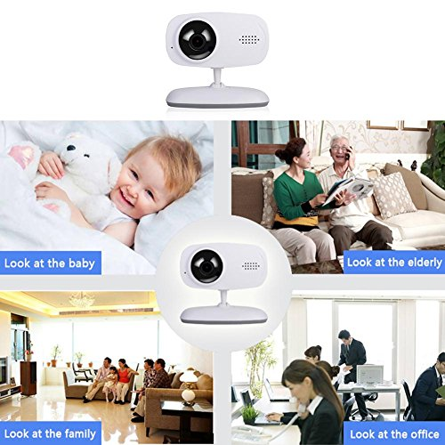 Wireless WiFi Camera 720P Insert Card Camera IR Night Vison Two Way Audio Motion Detection Remote Monitor Home Security Webcam by UEB (Image #3)