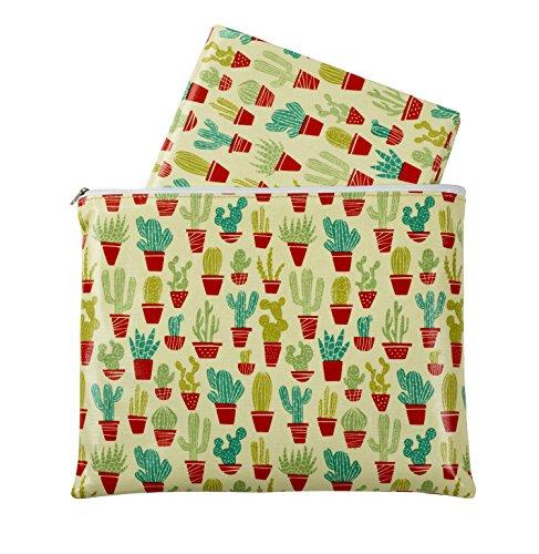 Sugarbooger Jumbo Floor Splat Mat, Happy Cactus