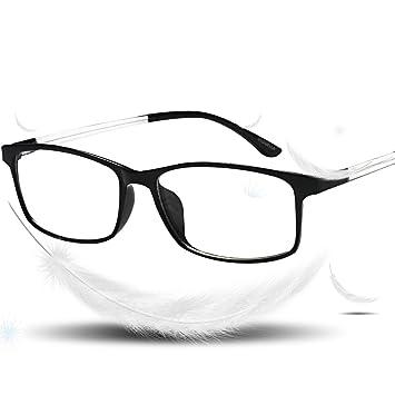 1bac34d0d75 VVDQELLA Bluelight Blocker Reading Glasses TR90 3.00 for Women   Men UV  Protection Anti Glare Computer