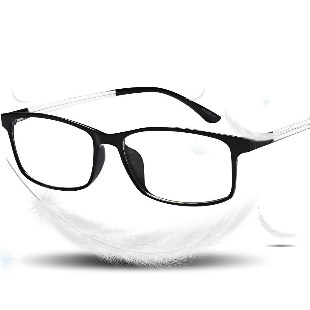 85df954680 VVDQELLA Bluelight Blocker Reading Glasses 2.50 for Women   Men Anti Glare  Blue Light Blocking Computer