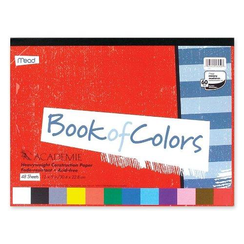 色のMeadWestvaco社MEA53050アカデミーブック12 X 9 B00006IE27
