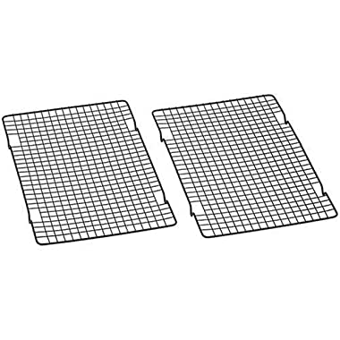 Baker's Secret 1061483 10-by-16-Inch Nonstick Cooling Rack, Set of 4