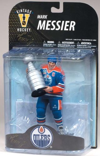 McFarlane Toys NHL Legends Series 7 Mark Messier Edmonton Oilers with Stanley Cup