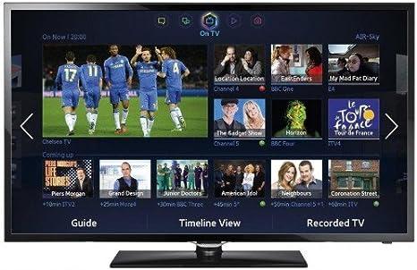 Samsung UE42F5300AW - Smart TV LED de 42 pulgadas, color negro: Amazon.es: Electrónica