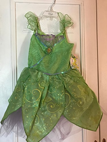 [Disney Store Tinkerbell/Tinker Bell/Tink Costume Fairy Dress Size Small 5/6] (Tinker Bell Child Tiara)